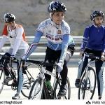دوچرخه سواری دختران در تبریز