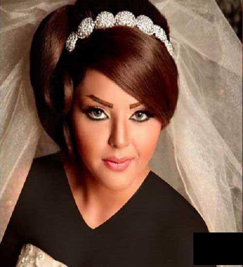 مدل موی ساده عروس