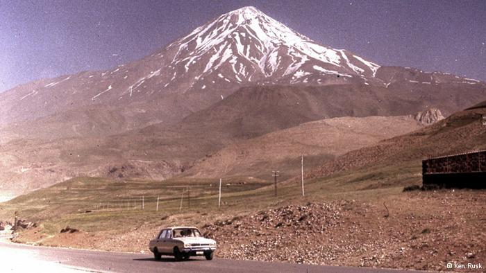عکس قدیمی کوه دماوند
